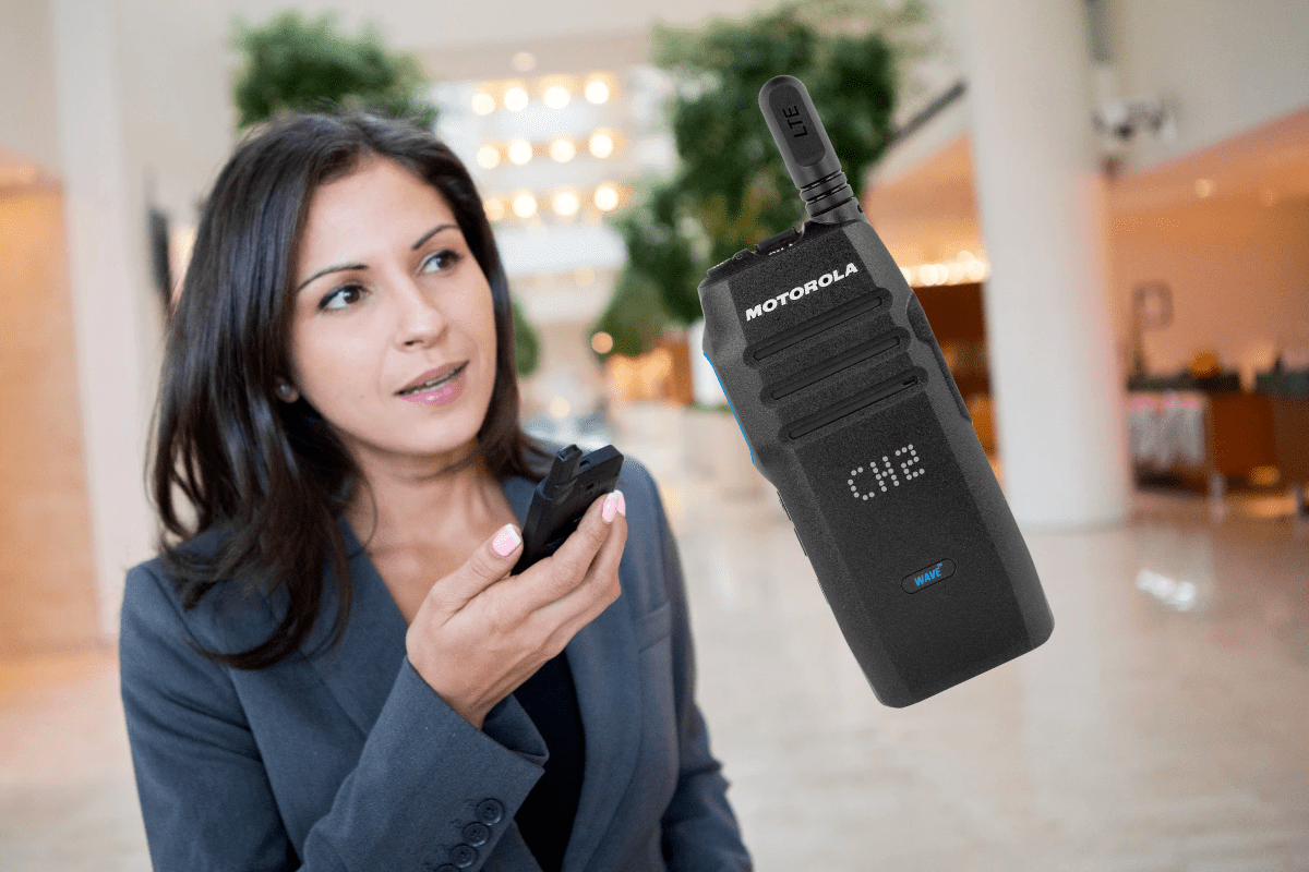 De Motorola TLK100 LTE portofoon