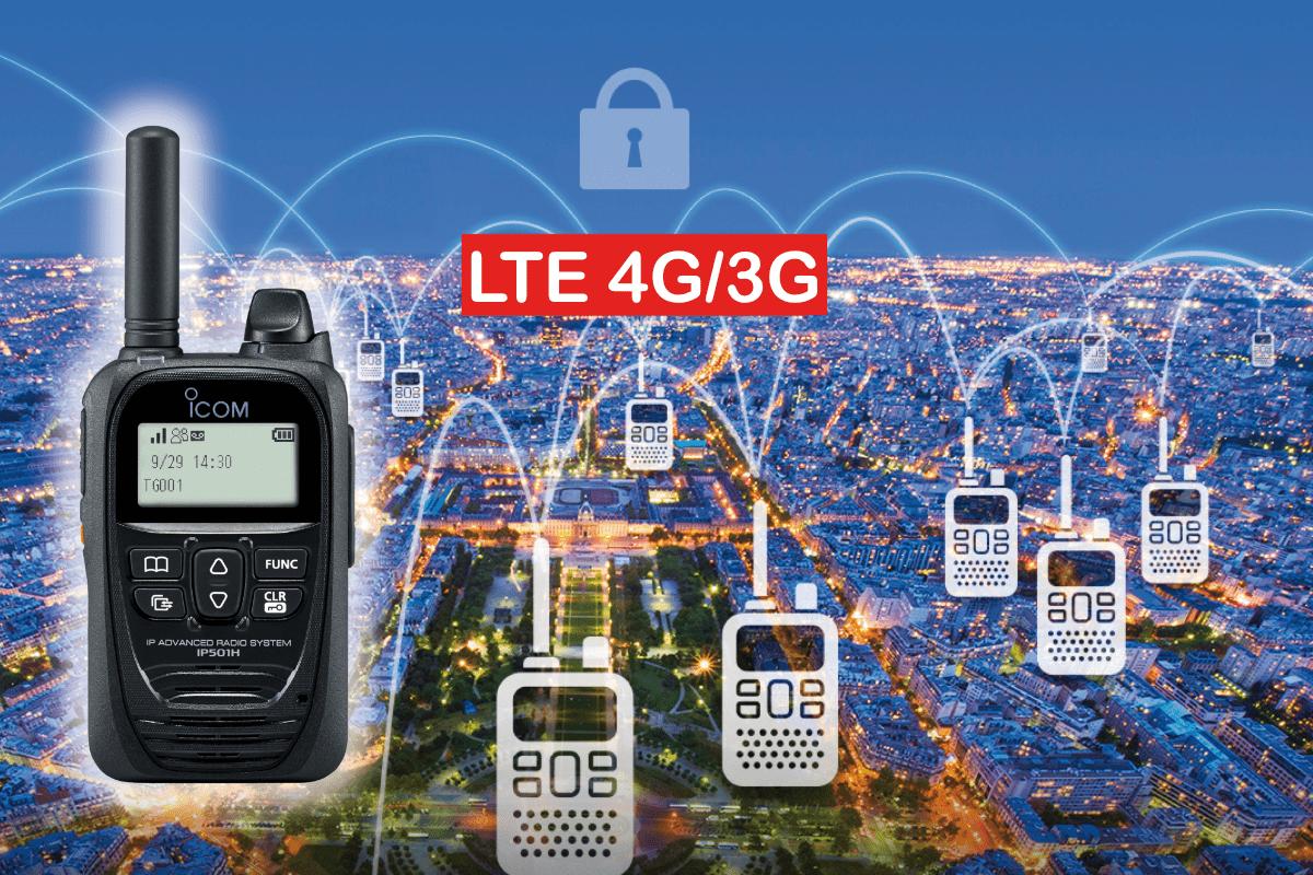 Nieuwe 4G/LTE portofoon van Icom