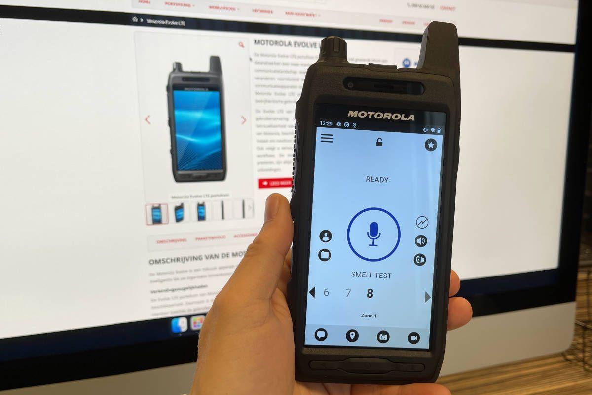 De nieuwe Evolve LTE smart portofoon