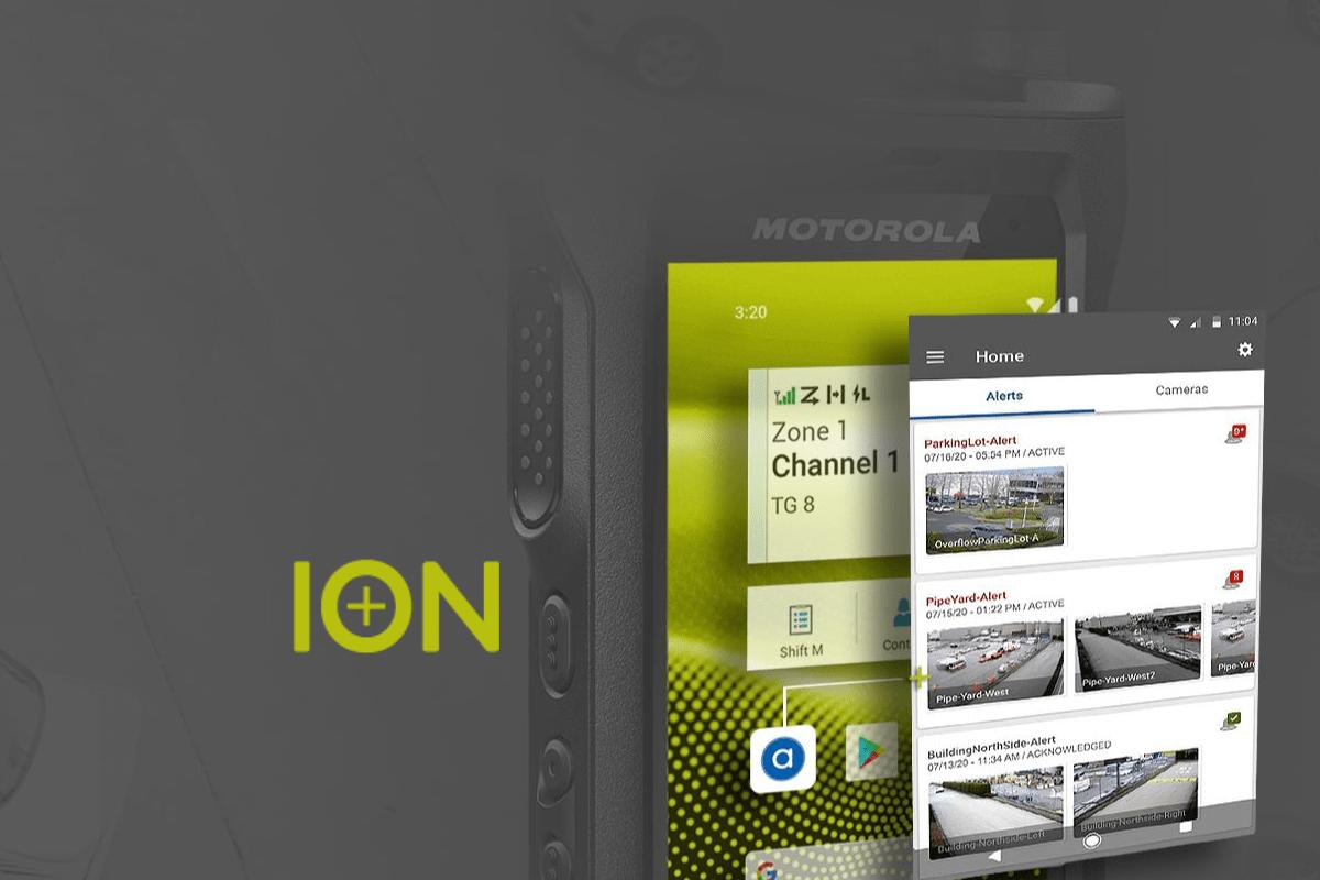 De nieuwe MOTOTRBO ION smart portofoon