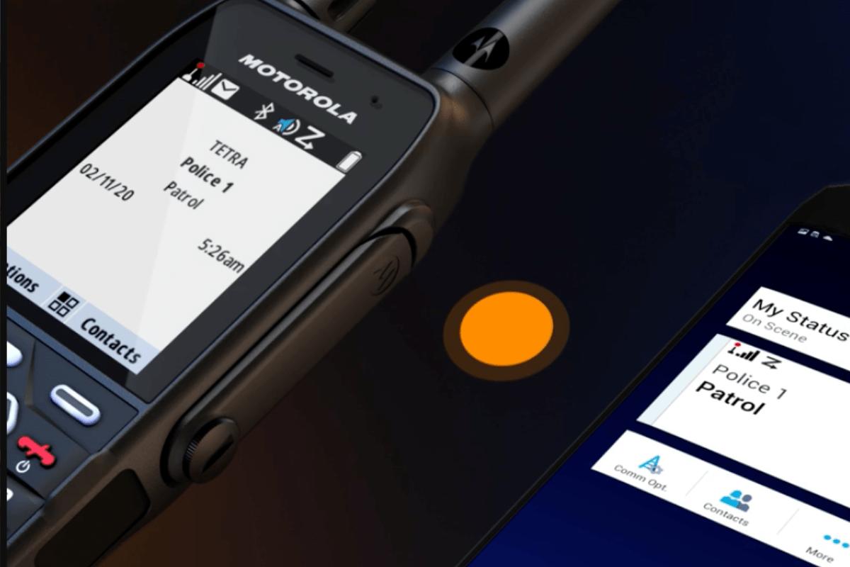 Alles over de nieuwe MXP600 TETRA portofoon
