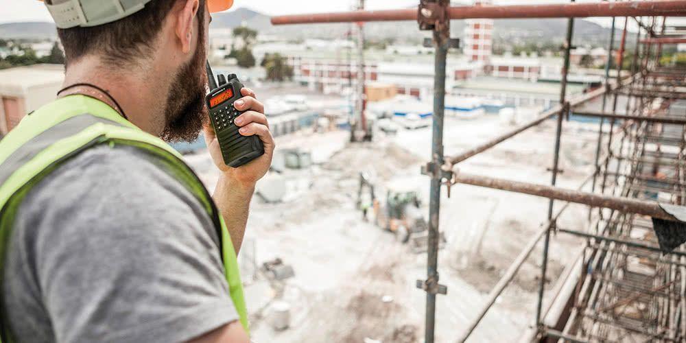 Portofoons kopen voor de bouw